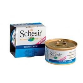 Schesir Kitten tonyina amb aloe 85gr